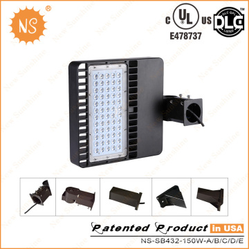 Replace 300W HPS 150W LED Packing Lot Light