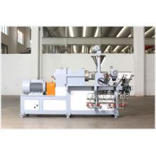 Polyethylene Plastic Recycling Twin Screw Extruder Machine/Pet Plastic Granulating Extrusion Production Line