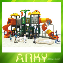 Eco-friendly kids playground outdoor equipment for sale