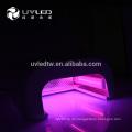 660nm (IR) + 365nm (UV) + 405nm (uv) Drei Arten von LEDs leichte Handhaut, die eine Nadellampe aufnimmt