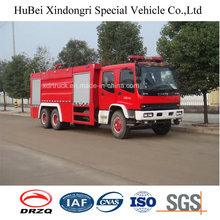 15ton Isuzu Tipo de tanque de agua Lucha contra incendios Motor Euro 4