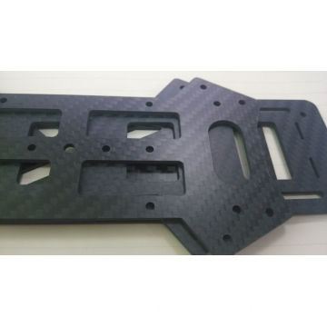 Aangepaste Carbon Backplate 250x400mm