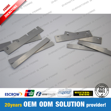 Tungsten Carbide Knives untuk Industri Tembakau