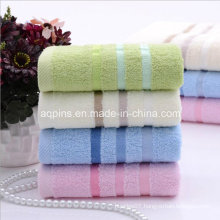 100% Combed Cotton Towel with Logo (AQ-027)