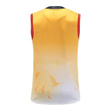 Camisa de rúgbi sem mangas 100% poliéster
