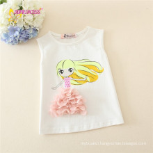 guangzhou wholesaler knit vest for baby girl small girl printing fashion cute child safety vest on sale