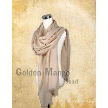 Bufandas de lana de gran tamaño