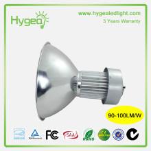 Source d'éclairage économiseur d'énergie 100W 3 ans de garantie led light high bay