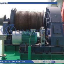 Molinete hidráulico marina del ancla de la nave de la alta calidad (USC-11-014)