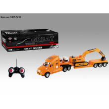 Four Function R/C Truck Toys with Light for Kids