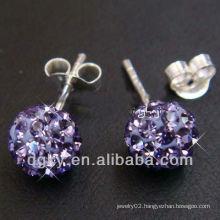 18G Stud Earrings Earlets Ear Piercing Gem Jewelry