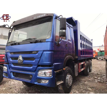 Camion à benne basculante Sinotruck Howo 6 * 4 371HP d'occasion