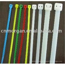 Fabricantes de bom isolamento colorido nylon sacos de empate de cabo