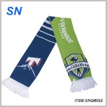 2015 China Online Shopping Stock Acrylic Football Scarf