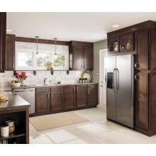 L Shape Wholesale Cabinet de cuisine en bois massif