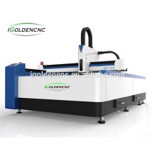 1530 tamanho do trabalho 300 w \ 500 w \ 750 w \ 1000 w máquina a laser De Fibra para o metal