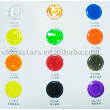 HIGH VISIBILITY REFLECTIVE PVC TAPE COLOR CHART