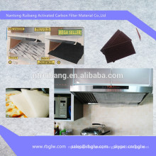 manufacturing activated carbon kitchen exhaust fan filter
