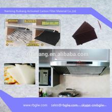 fabricação de filtro de exaustão de cozinha de carvão ativado cozinha