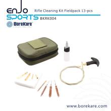 Borekare 13-PCS Military Fieldpack Gun Cleaning Rifle Kit
