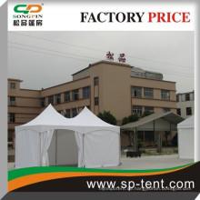 Günstige Luxus-Safari-Spannung Betrieb Zelt zum Verkauf mit wasserdichten PVC-Leinwand Stoff für Garten Jurte Partei