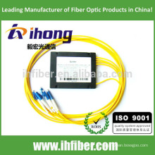 FBT 1 * 4 divisor de fibra óptica fusionado Conectores LC