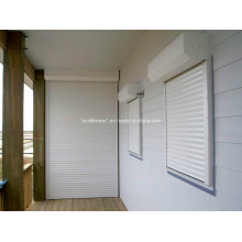 Foncci White Powder Coat Window Roller Shutters