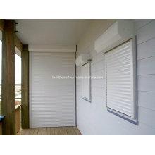 Foncci White Powder Coat Window Roller Shutters