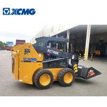 XCMG XC740K Chinese wheel track skid steer loader