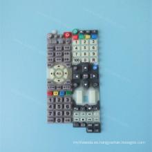 Silkscreen Custom Printing Silicone Rubber Keyboard