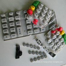 De silicona de silicona de silicona de caucho botón de almohadilla
