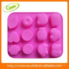 Bakeware feito sob encomenda do silicone da classe de alimento (RMB)