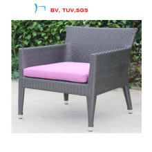 2016 Rattan Patio Dining Chair with Cushion (CF1367C)