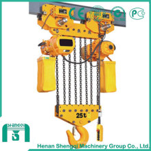 Polipasto de cadena-50t de capacidad de alto rendimiento