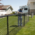 5 6-футовый оцинкованный забор из звеньев цепи