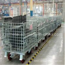 Industrial Workshop Lagerung täglich beweglicher Drahtbehälter