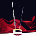 Custom Design Crystal Glass Champions Trophy Awards