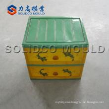 Plastic drawer mould