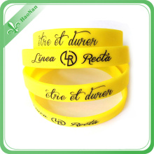 Hot Sale Promotional OEM Sport Silicon Bracelet/ Wristband