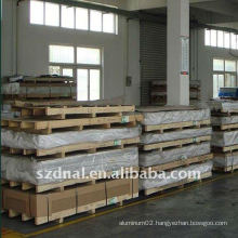 6063 aluminium metal sheet/plate used in aviation