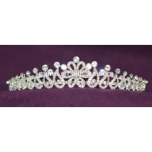 Скидка пользовательских Свадебная тиара блестящей Crystal Bridal короны