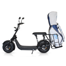 China wholesale US warehouse citycoco electric scooter with bag rack