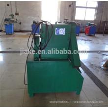 Machine de fabrication de fibre d'acier de fil de rendement élevé pour le renforcement concret