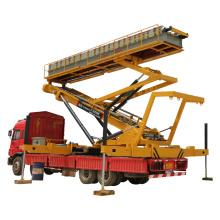 Low price  16.5m 26 m track hydraulic lift platform in stock
