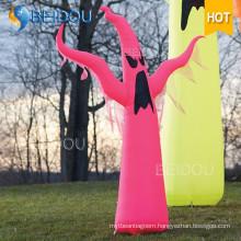 Inflatable Halloween Decorations House Black Cat Pumpkin Spirit Ghost