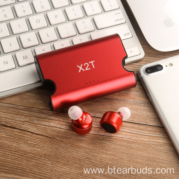 Twins Bluetooth Earphones With Magnetic Charging Case