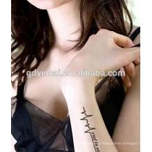 Neue mode, ungiftig adhorning orientiert, Yincai temporäre tattoos aufkleber