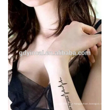 Nueva moda, orientado no-tóxico orientado, Yincai tatuajes temporales etiqueta