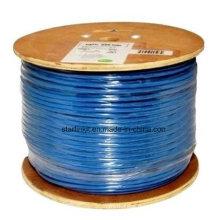 Câble LAN CAT6 STP haute vitesse pour réseau Gigabit Bleu