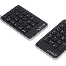 Teclado Numérico Portátil Multifuncional ORICO, Office Basic / teclado